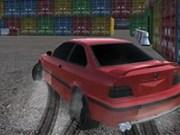 Drift Runner 3D: BMW in port