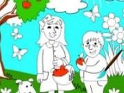 Carte de colorat pentru copii