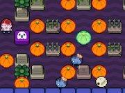 Labirint cu dovleci si zombie