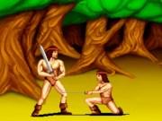 Lupte cu sabii împotriva barbarilor
