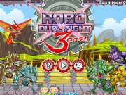 Lupte cu Roboti Ninja 3: Bestia