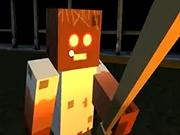 De supravietuit in Minecraft cu Block Granny Scary
