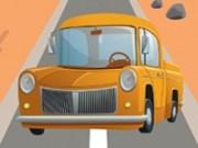 Condu camionul cu viteza pe autostrada