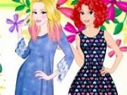 Coafuri ombre pentru Aurora si Ariel