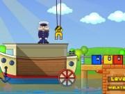 Incarca marfa pe barca