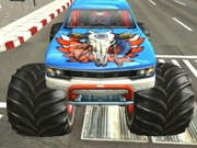 Masini Monster Truck Parcari in oras