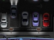 Valetul parcheaza masinile