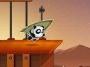 Panda cu parapanta