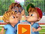 Fotbal cu Alvin si Chipmunks: Lovituri libere