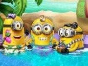 Petrecere in piscina cu Minionii