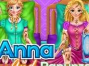 Anna si Rapunzel la spital