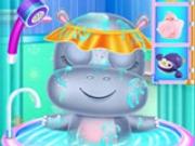 Îngrijirea hipopotamului pentru copii