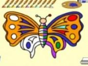 Fluturas de colorat