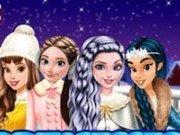 Patinaj cu Anna, Jasmine si Belle