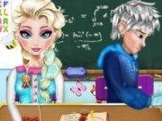 Elsa si Jack Frost