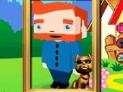 Coloreaza personaj Minecraft