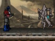 Lupte cu robotii Transformers