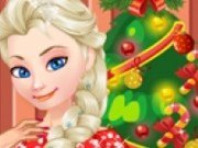 Elsa pregatiri de Craciun