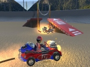 Demolition Cartoon Car Crash Derby
