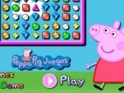 Diamante Bejeweled cu Peppa Pig