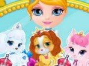 Concurs de frumusete pentru animalele de companie a lui Barbie