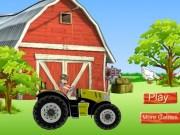 Bakugan cu Tractorul la ferma
