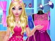 Elsa moda cu rochii roz