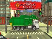 Condu masina de gunoi Joc Simulator