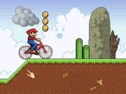 Mario aventura cu bicicleta BMX
