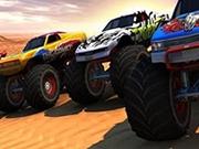 Curse Camioane Monstru 3D