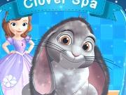 Sofia ingrijeste iepurasul Clover