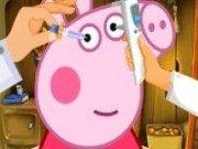 Purcelusa Peppa la doctorul oftalmolog