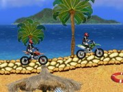 Cursa Motocross pe plaja