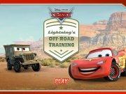 Condu masina Disney Lightning McQueen