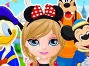 Baby Barbie in vacanta la Disneyland