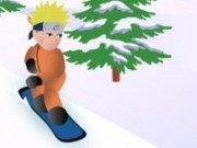Naruto pe placa de Snowboard