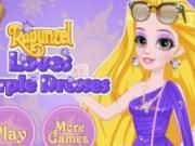Rochii violete pentru Rapunzel
