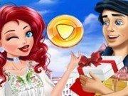 Ariel si Eric la cumparaturi