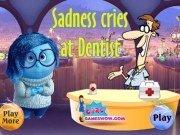 Tristețea din filmul Intors pe dos la dentist