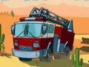 Masina Pompierilor in Vestul Salbatic