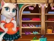 Talking Angela la cumparaturi