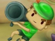 Lansatorul de bombe cu Bazooka Boy