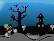 Zombie noaptea cu motocicleta