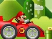 Mario cursa cu masina