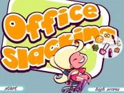 Sarah secretara Slacking