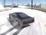 Burnout Drift pe zapada