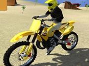 Simulator de Cascadorii cu Motocicleta pe Nisip