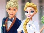 Elsa si Jack Frost Nunta de poveste