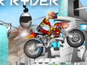 Robotul Cyber cursa cu Motocicleta