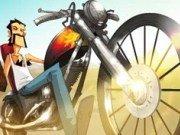 Trucuri cu motocicleta in desert